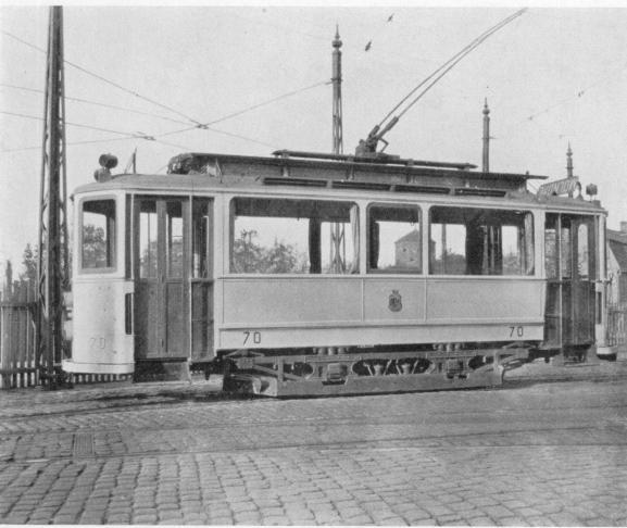 Motorvagn, 1909 års modell