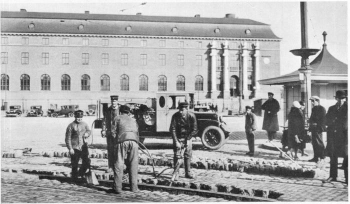 Stoppningsaggregat 1928