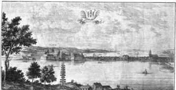 Jönköping. (Ur Suecia antiqua.)