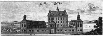 Sätuna. (Ur Suecia antiqua.)