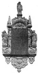 Lars Cruus' epitafium (från Björklinge kyrka).