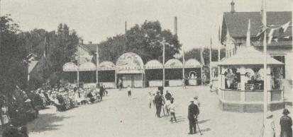 Varbergsmässans öppnande, lördagen den 30 juli.