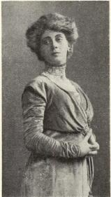Anna Flygare som Alice i »Dödsdansen».