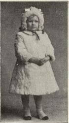 Anne-Marie, Strindbergs dotter med fru Bosse.