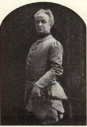 August Palme som Karl XII i »Karl XII».