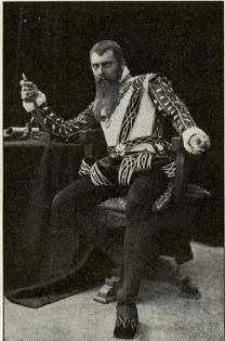 Anders de Wahl som Erik XIV i »Erik XIV».