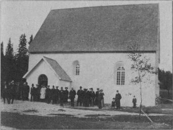 Gamla kyrkan — utvändigt efter restaureringen.