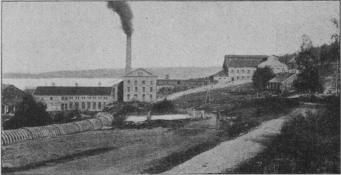 Cellulosafabriken i Utansjö.