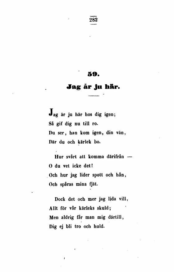 poesi om kärlek