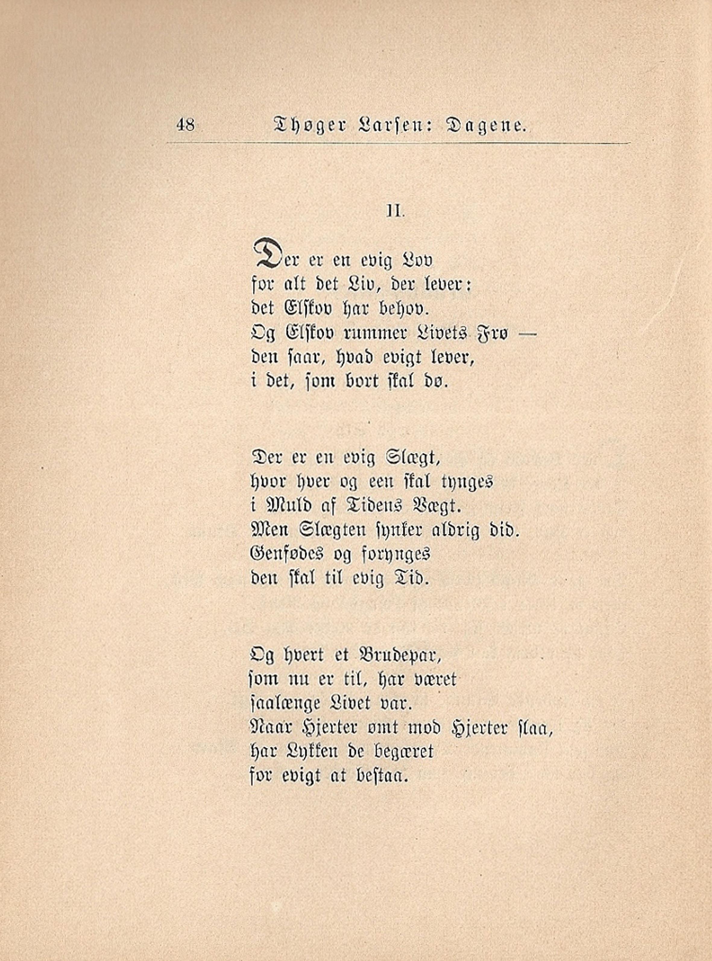 digt til brudepar