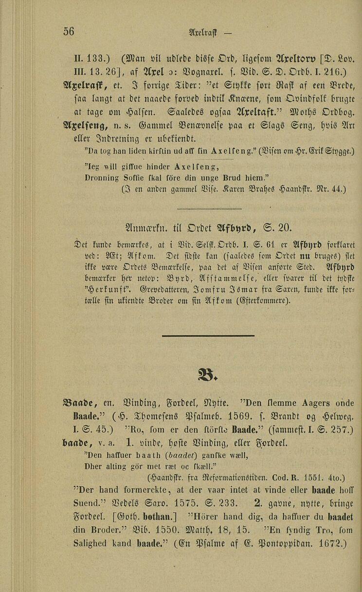 ordbog over gamle danske ord