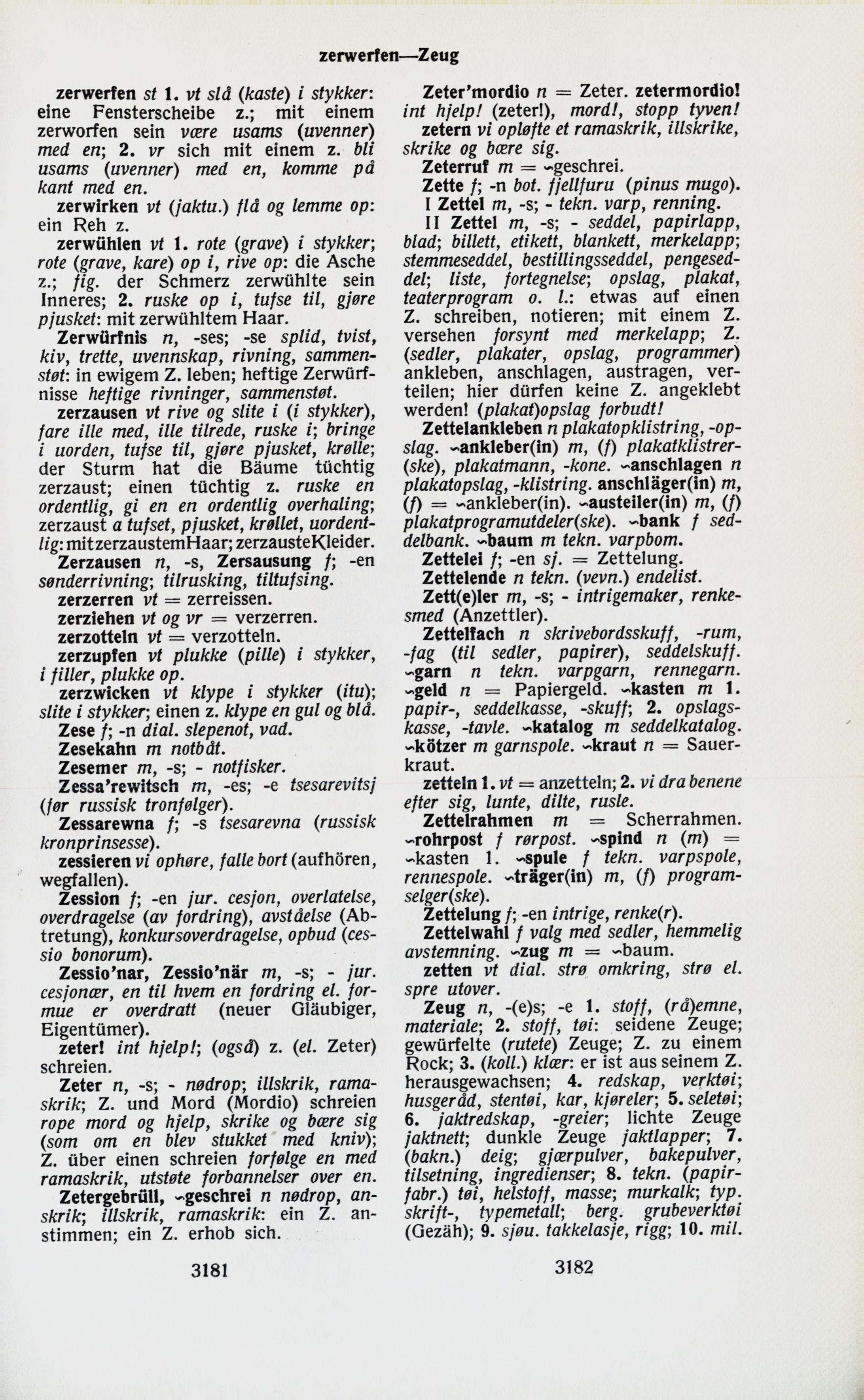 3181-3182 (Tysk-norsk ordbok)