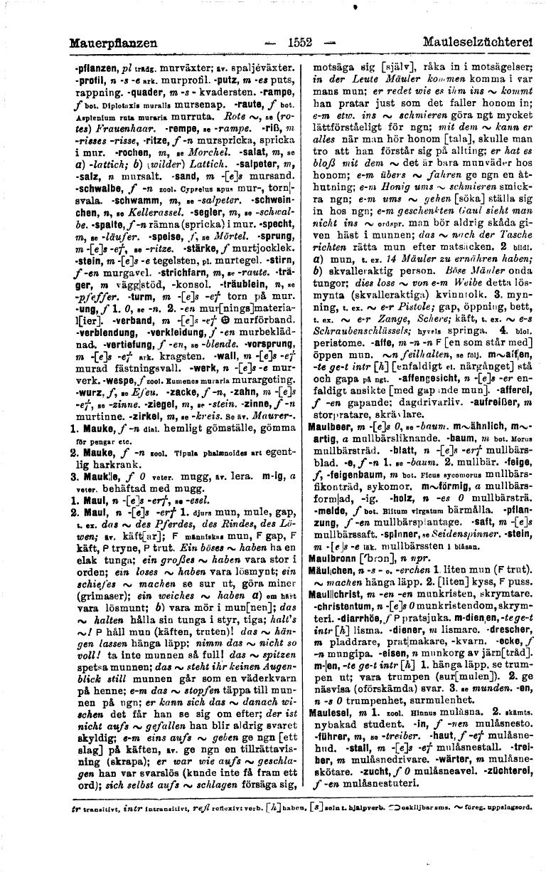 1552 (tysk-svensk ordbok)