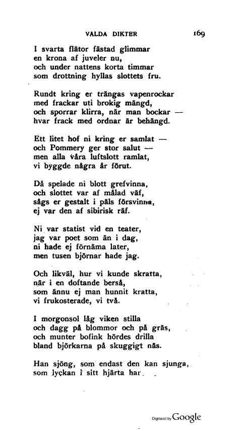 korta dikter om blommor