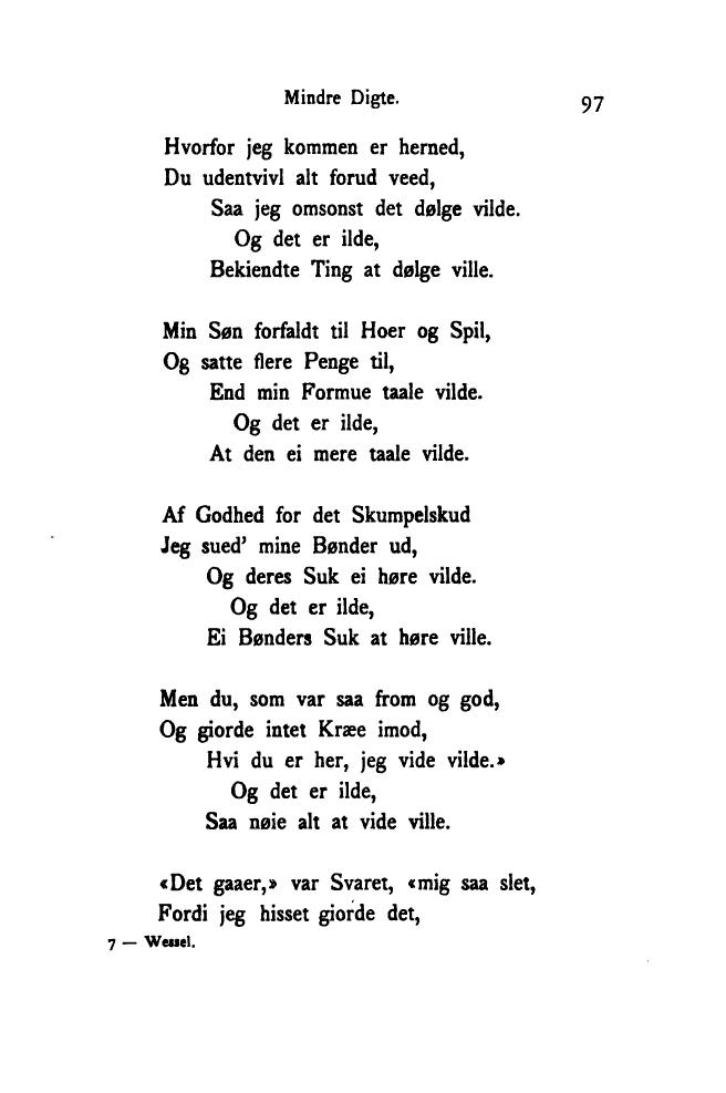 digt til min søn