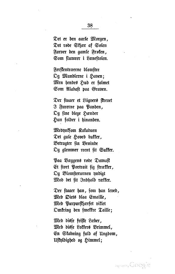 digte om ungdom