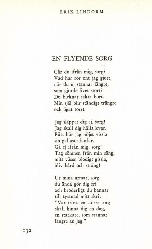 tröstande dikt vid dödsfall