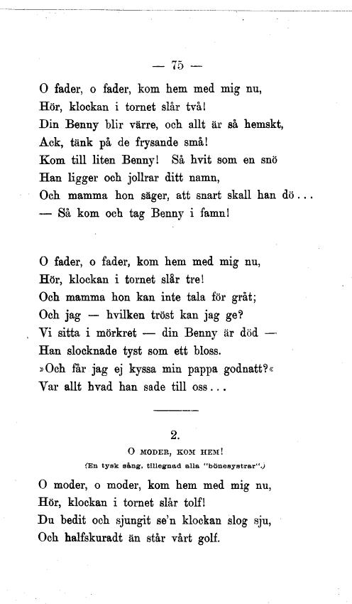 dikt till min döda pappa