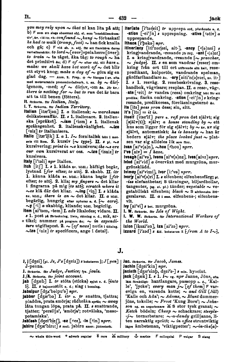 432 (English Swedish Dictionary : Engelsk svensk ordbok)