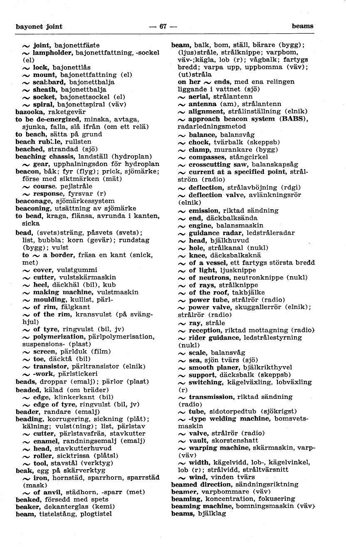 utsättare på engelska