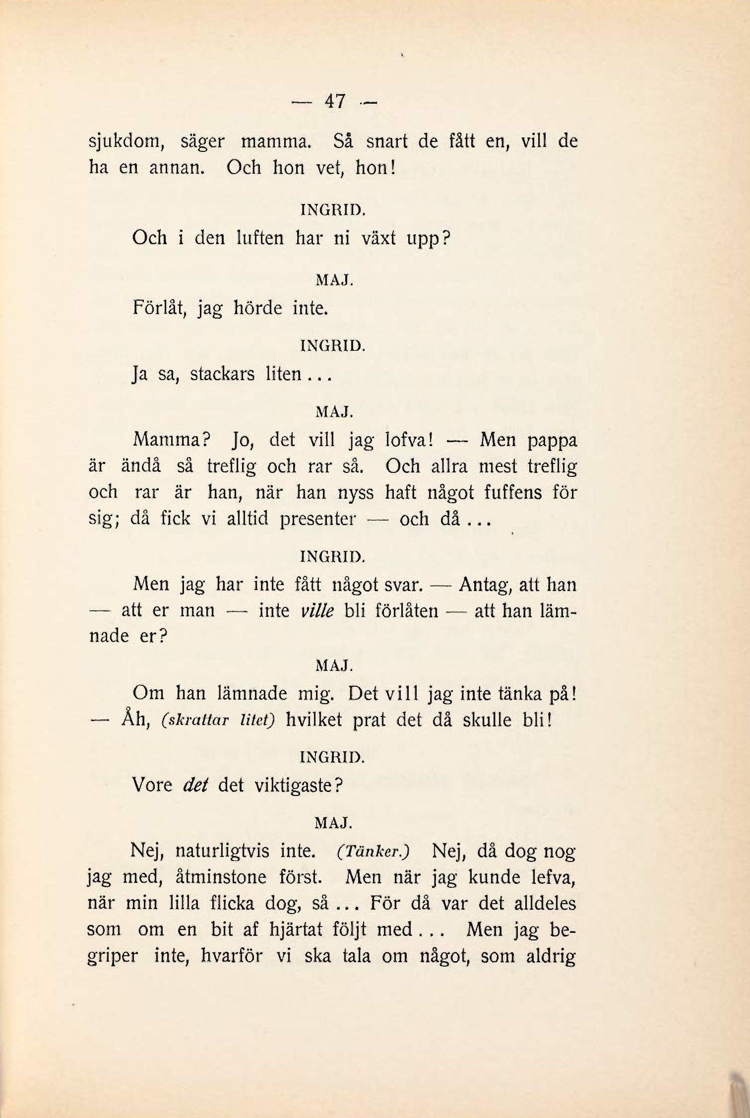 47 Ingrid En Döds Kärlekssaga