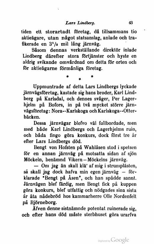 Bengt von hofsten till minne