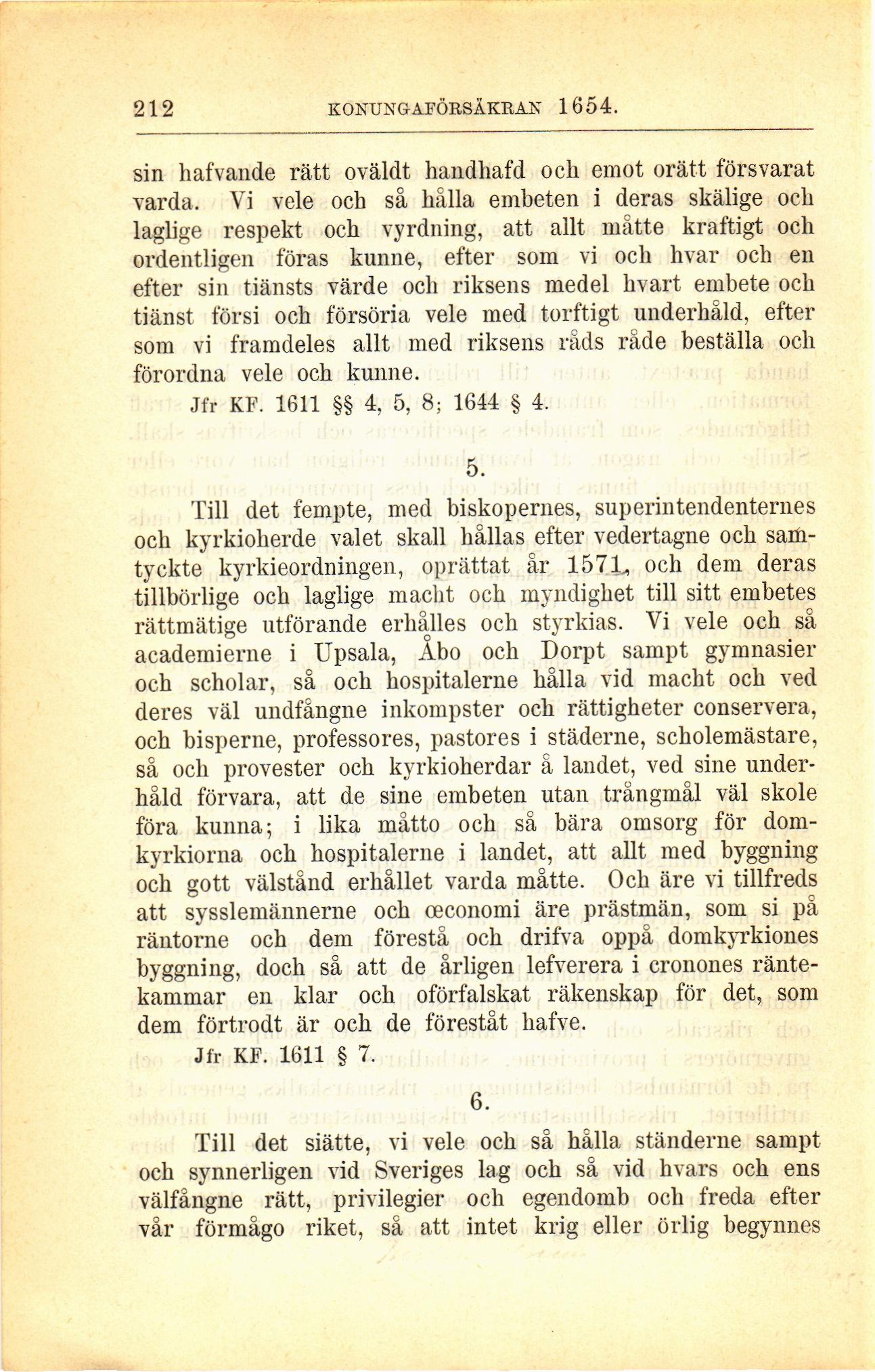 942e7b0a8ef 212 (Sveriges regeringsformer 1634-1809 samt konungaförsäkringar ...