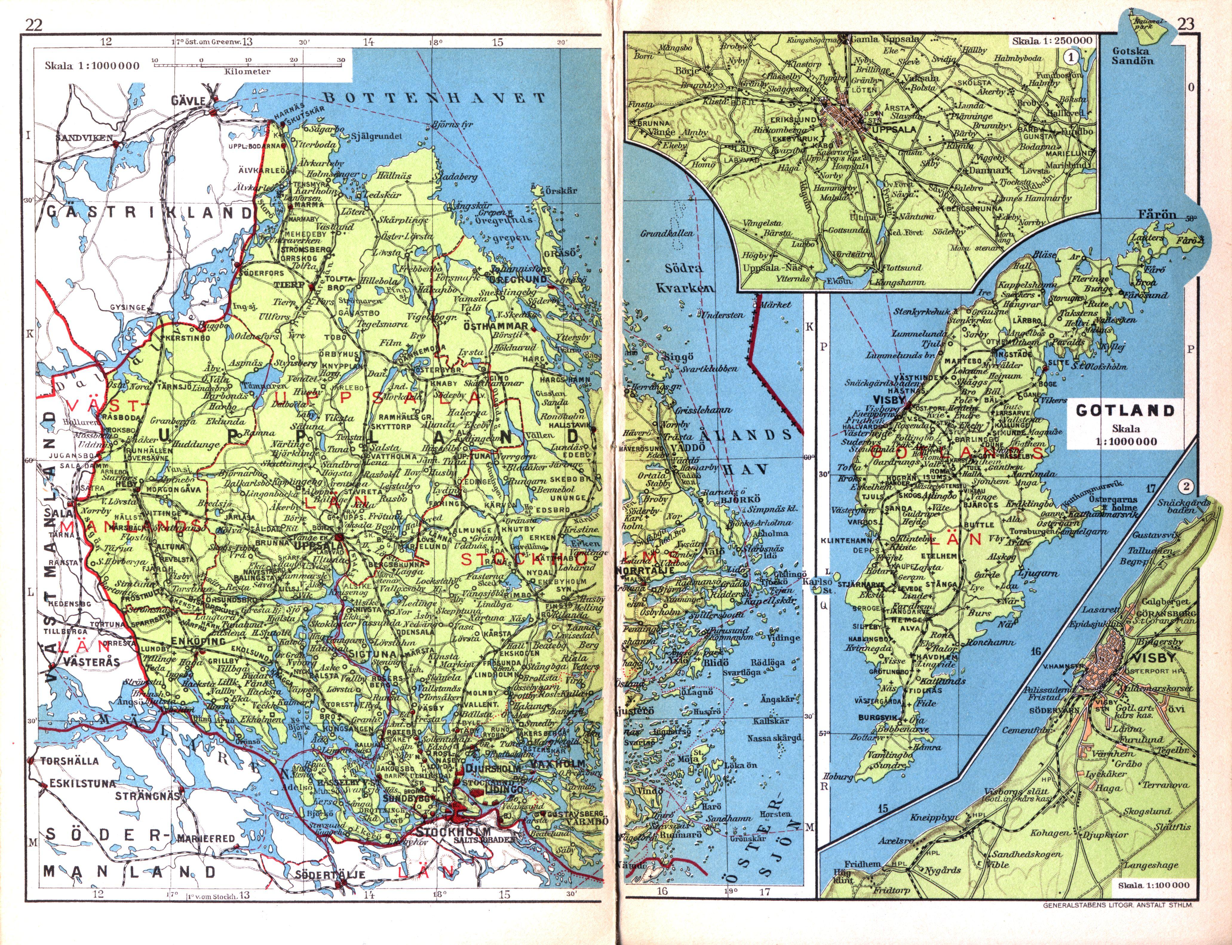 22 23 Cohrs Atlas Over Sverige