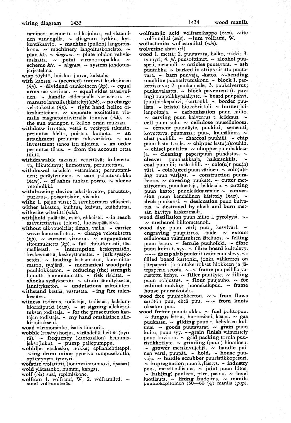 Tekniikan Sanakirja