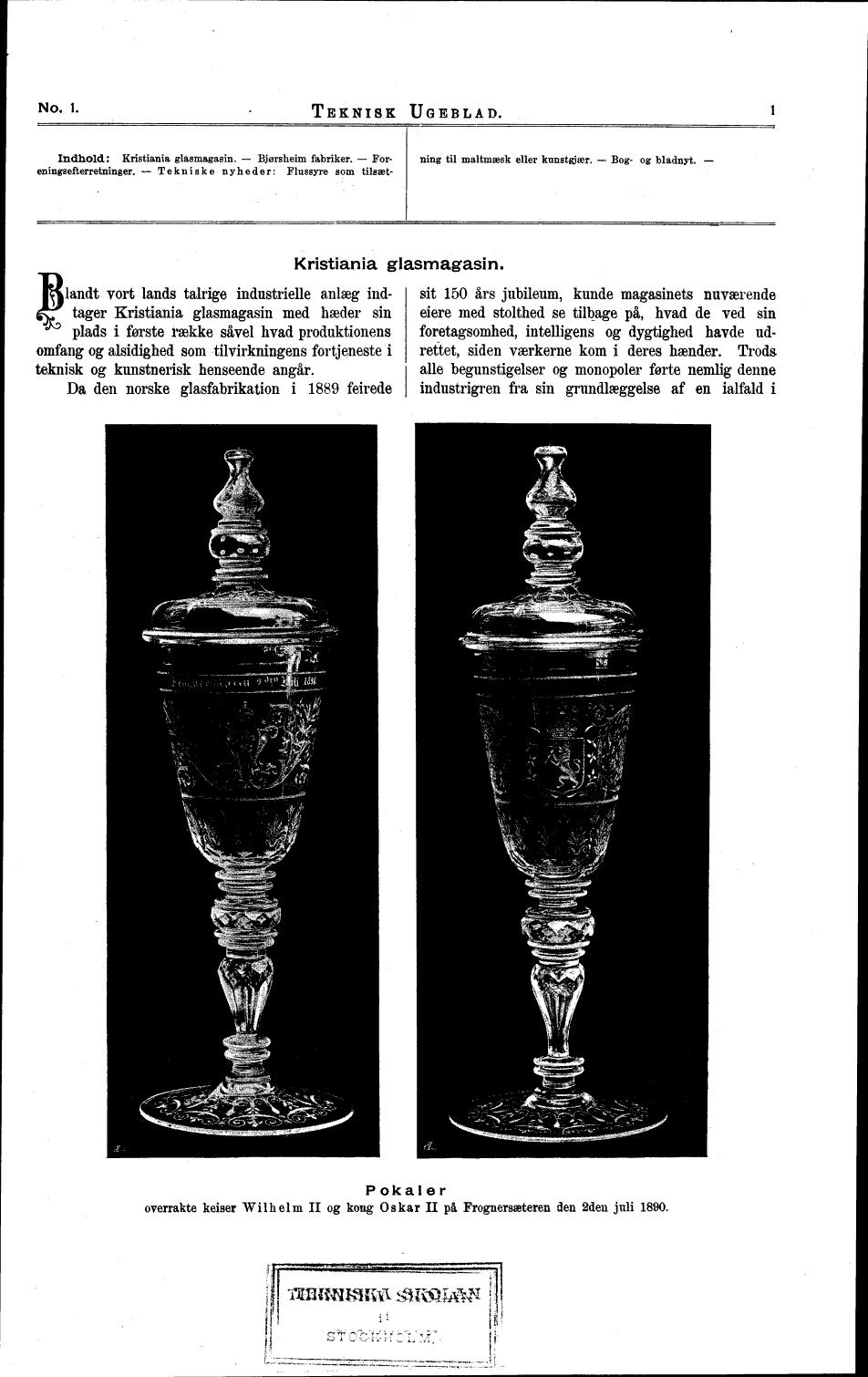Kristiania glassmagasin