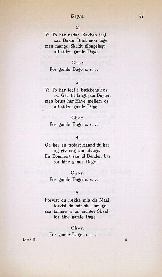 gamle digte