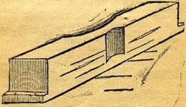 Stupstocken. (175 c.m lång)