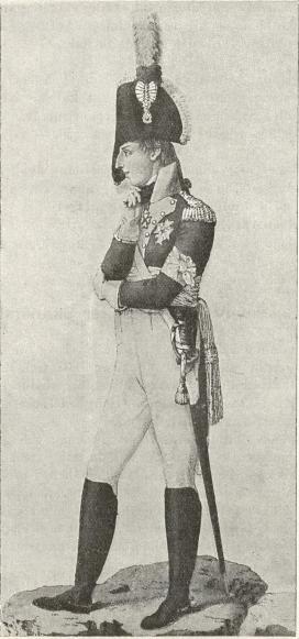 Gustav IV Adolf. Efter samtida kopparstick.
