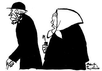 Småländskt kyrkfolk.