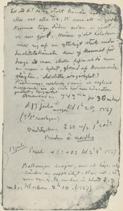 <bSida 11 i Andrées stora dagbok.