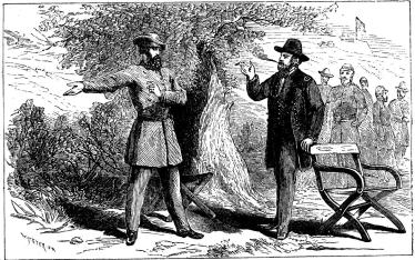 Generalerna Grant och Pemberton. — Vicksburgs kapitulation.