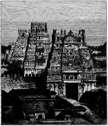 Indiskt tempel.