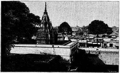 Aptemplet i Benares.