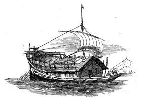 Indisk flodbåt.