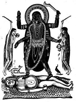 Gudinnan Kali.