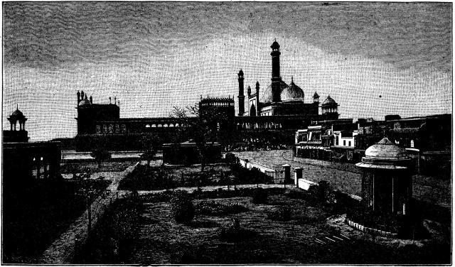 Muhammedansk moské.