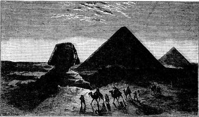 Pyramiderna och sfinxen.
