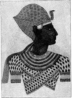 Ramses II såsom ung.