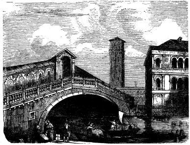 Rialtobron i Venedig.