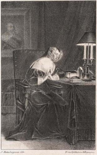 J. Holmbergsson, lith.Tr. hos Gjöthström & Magnusson.<b<biMaria Eleonora.</bi