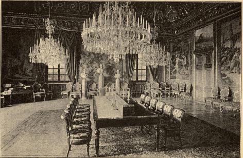 <biKonseljrummet på Stockholms slott.</bi