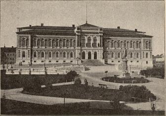 <biUniversitetshuset i Upsala.</bi