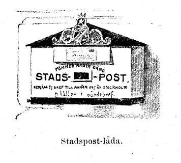 Stadspost-låda.