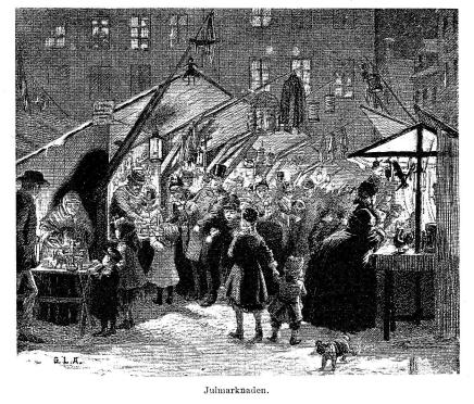 Julmarknaden.