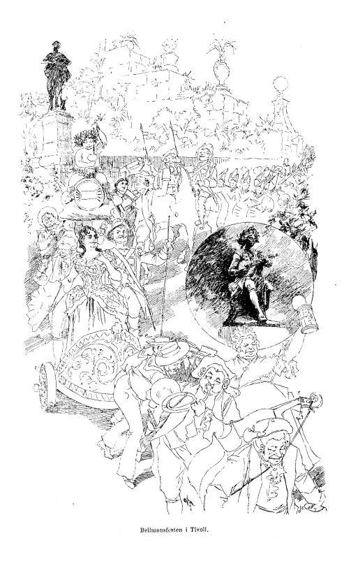 Bellmansfesten i Tivoli.